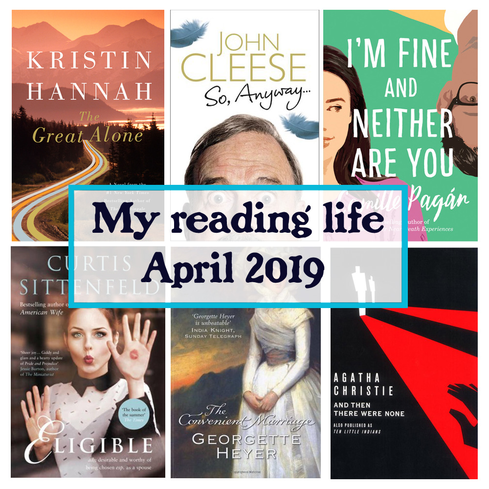 my reading life in April 2019