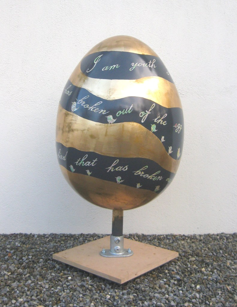 The Golden Age egg by six0six design
