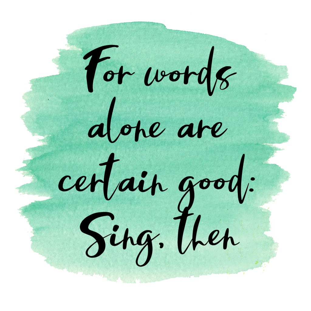 for words alone are certain good sing then wb yeats quote by amanda gorman tweeted