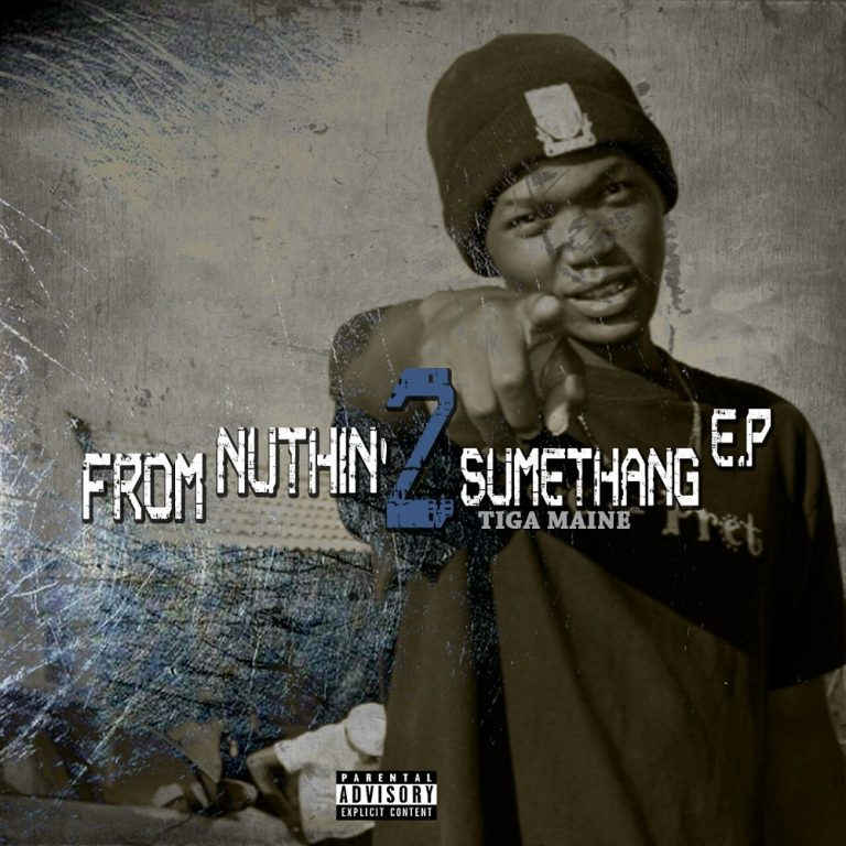 Tiga Maine from nuthin 2 sumethang EP artcover 768x768 1
