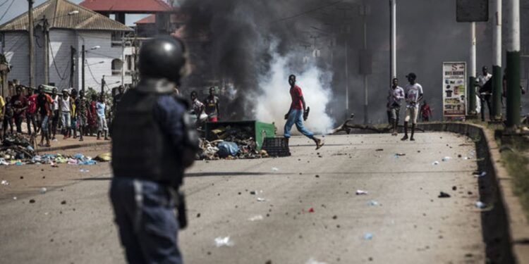 9 killed in post election violence in Guinea
