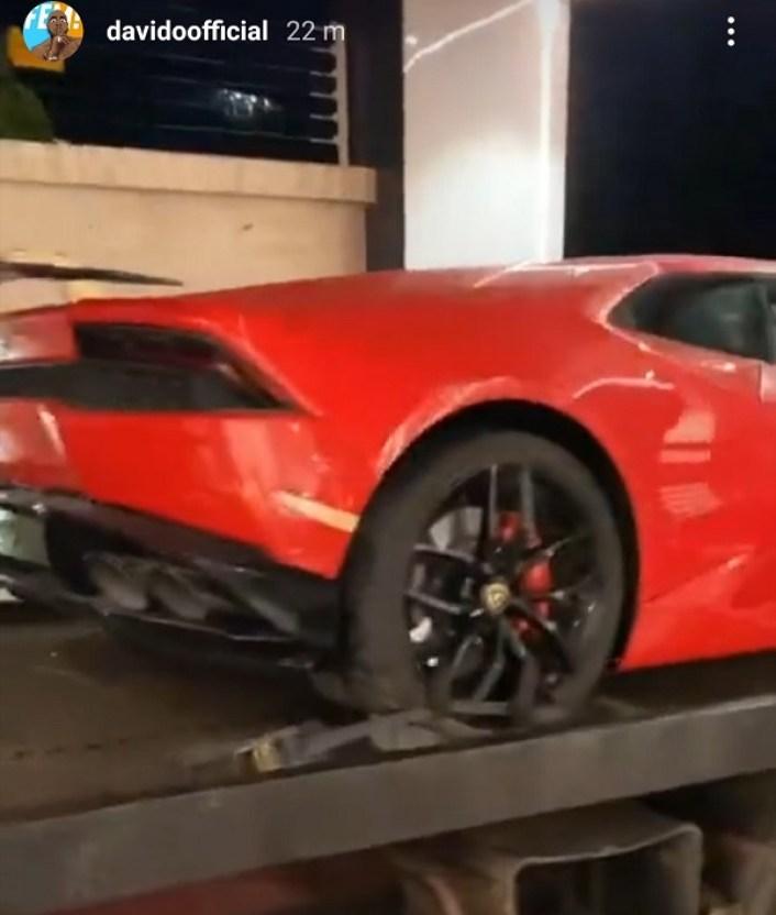 Davido Lamborghini 1
