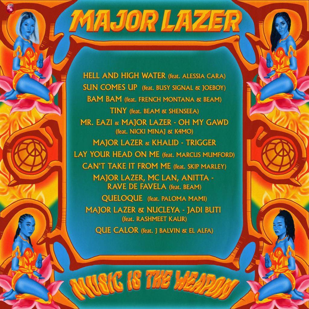Major Lazer – Trigger Ft. Khalid