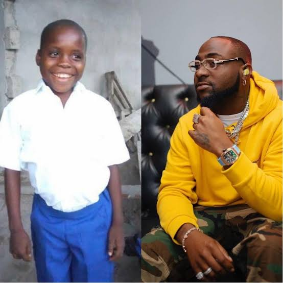 Meet Utibe the boy Davido is currently sponsoring after he sang his song 'if