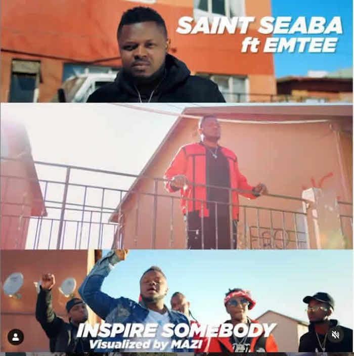 Video Saint Seaba Ft. Emtee – Inspire Somebody 1