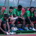 Super Eagles in full training, upbeat in victory over the Leone Stars.