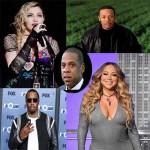 Meet top 5 richest American music artiste
