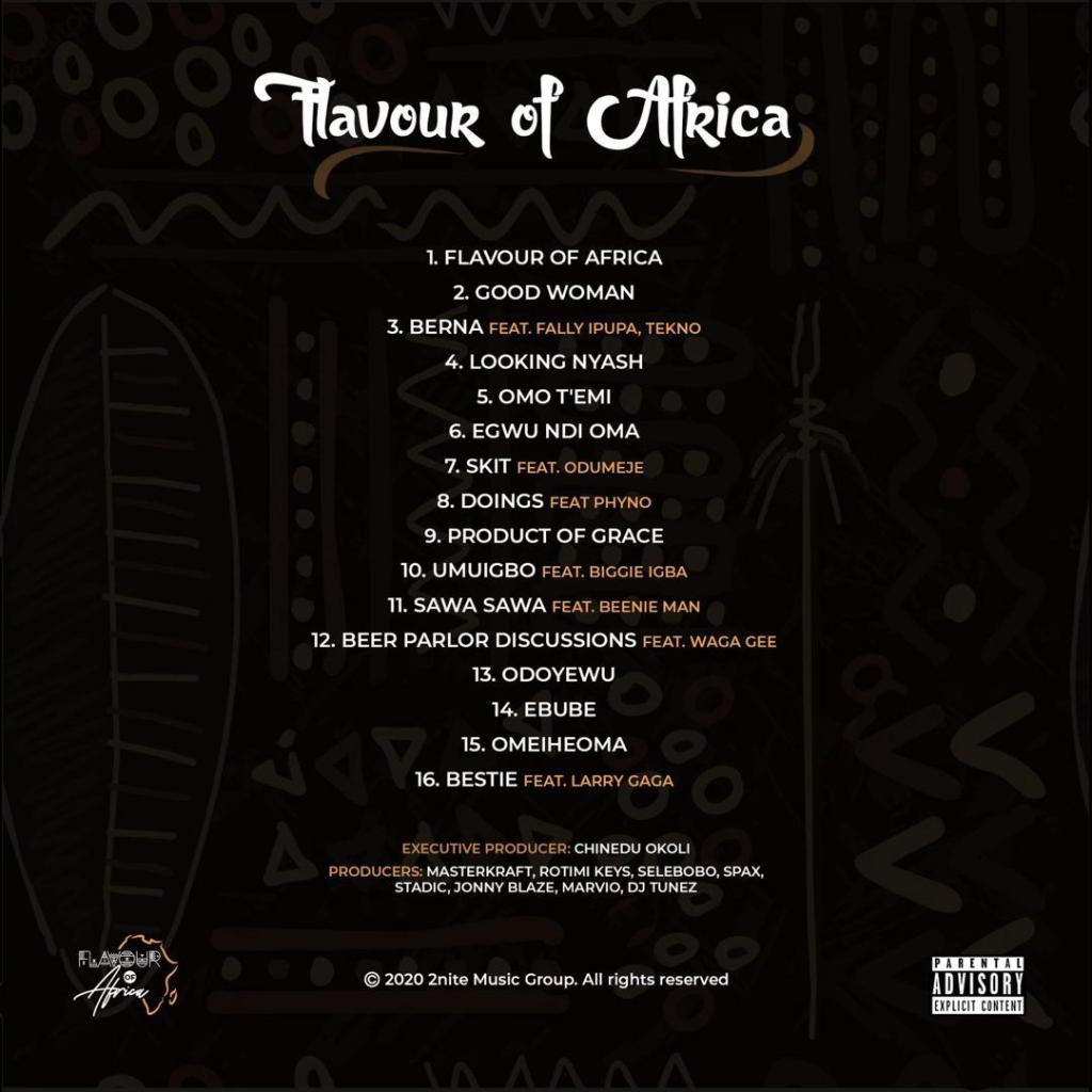 Album Flavour Flavour Of Africa Mp3 Download