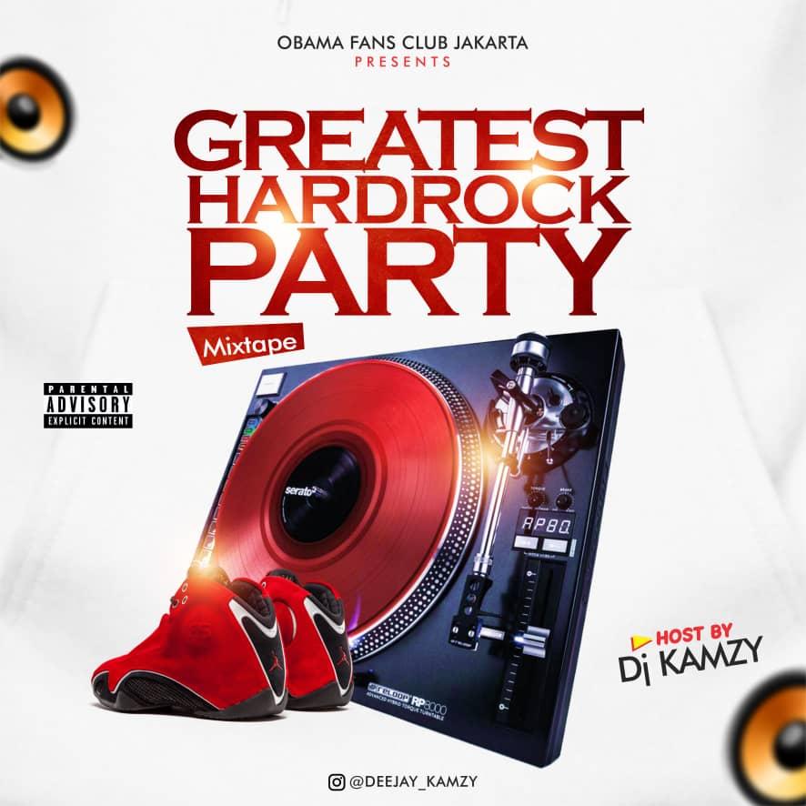 DJ Kamzy – Greatest Hard Rock Party Mix