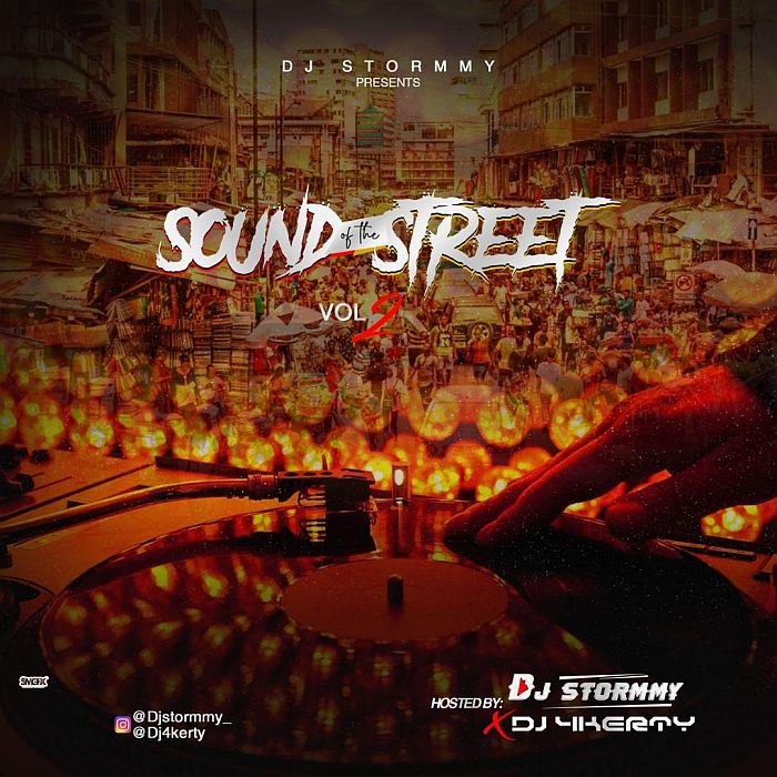 Mixtape DJ Stormmy X DJ 4kerty – Sound Of The Street Vol.2
