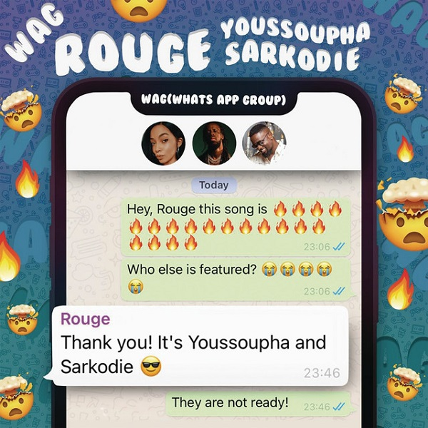 Rouge WAG Ft. Sarkodie Youssoupha mp3 download