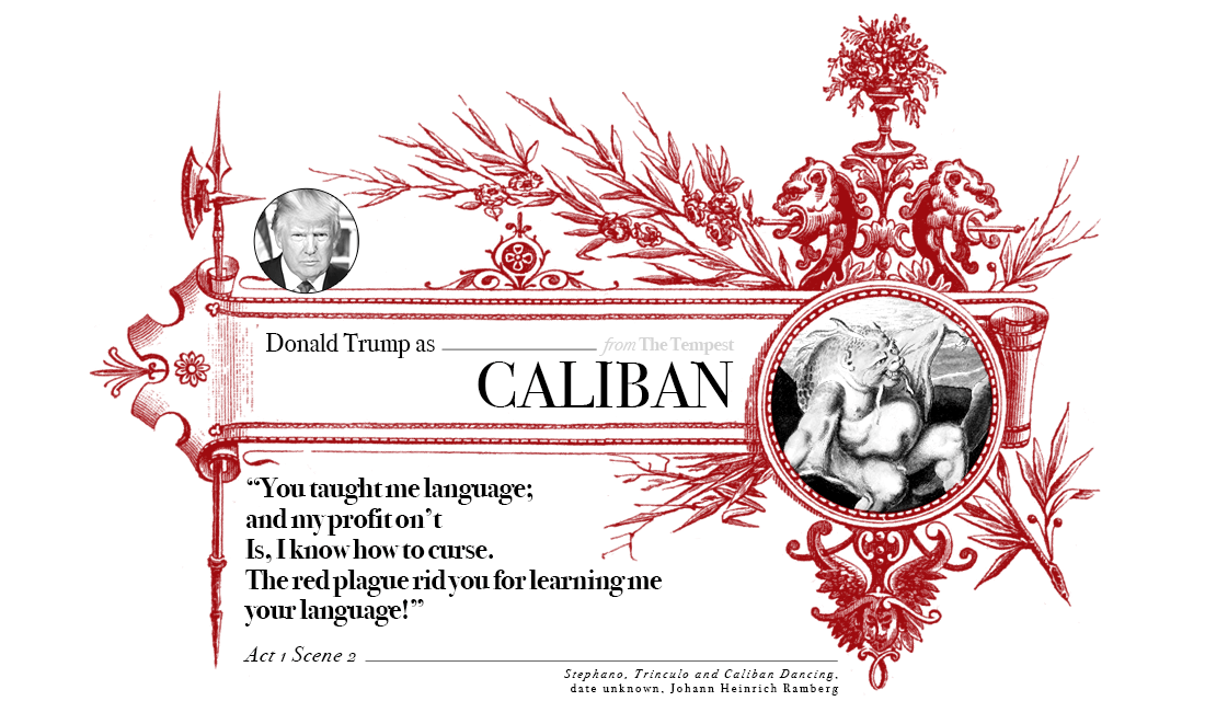 Campaign in Poetry, Govern in Prose - Donald Trump as Caliban