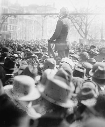Soapbox Speech (Source: Library of Congress/Flickr)