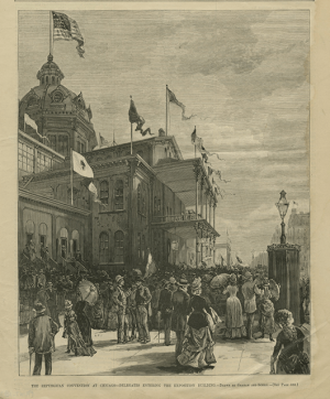 1884 Republican National Convention in Chicago (Source: Cornell University Library/Flickr)