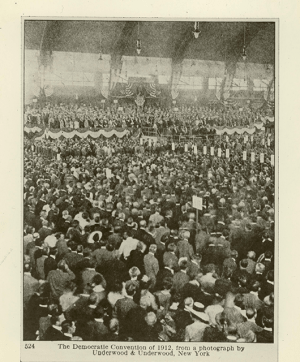 1912 Democratic National Convention in Baltimore (Source: Woodrow Wilson Presidential Library Archives/Flickr)