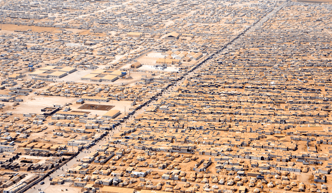 Za'atri Refugee Camp (Source: U.S. Department of State/Wikimedia Commons)