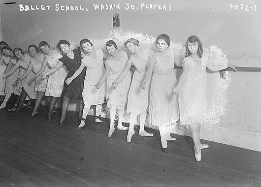 Ballet School (Source: Library of Congress/Flickr)