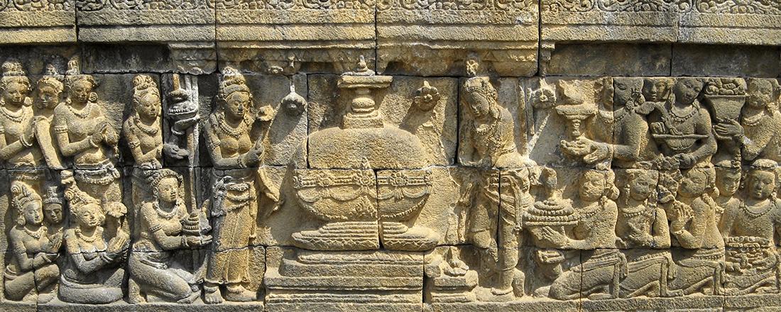 Borobudur (Source: Michael Gunter/Wikimedia Commons)