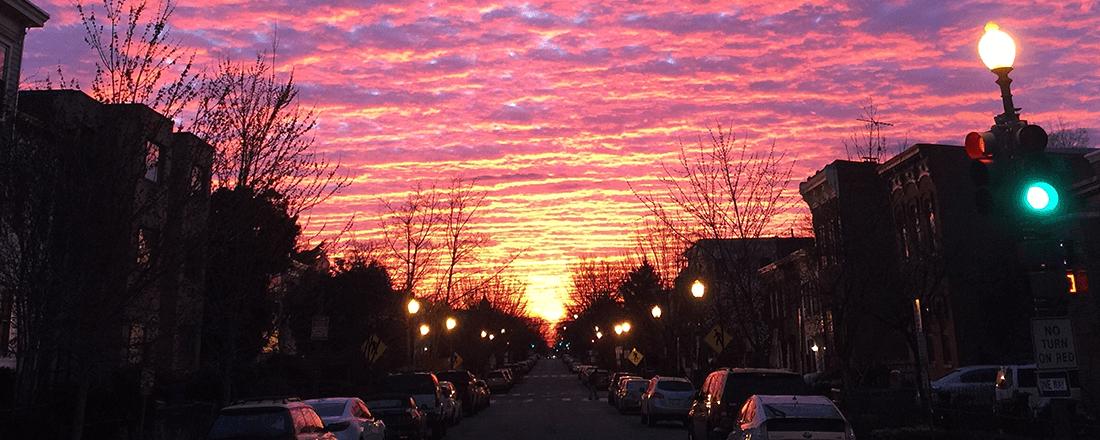 D.C. Sunset