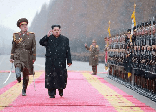 Kim Jong Un (Source: KCNA/Reuters)
