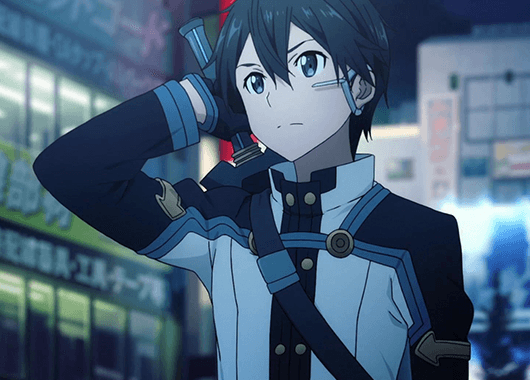 Kirito from Sword Art Online (Source: YouTube)