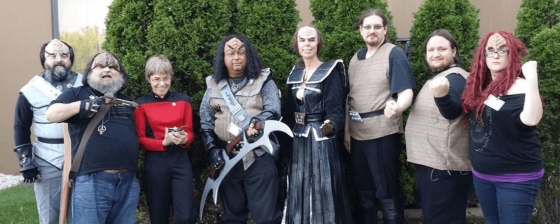Members of the Klingon Language Institute (Source: Klingon Language Institute/Facebook)