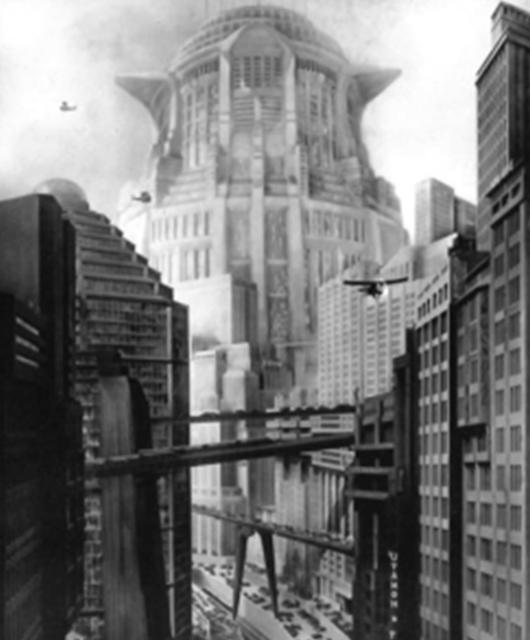 "Fritz Lang's ""Metropolis (Source: Wikimedia Commons)"