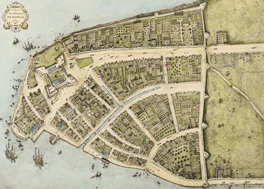 Colonial Map of New York, then called New Amsterdam (Source: Free Amsterdam)