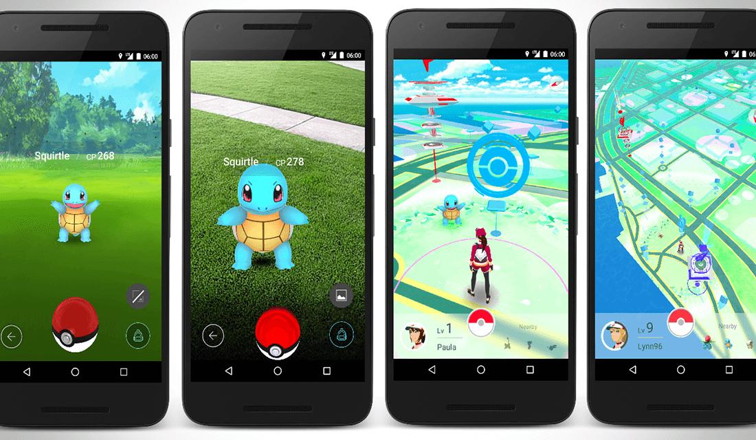 Pokémon GO gameplay (Source: Gambit)