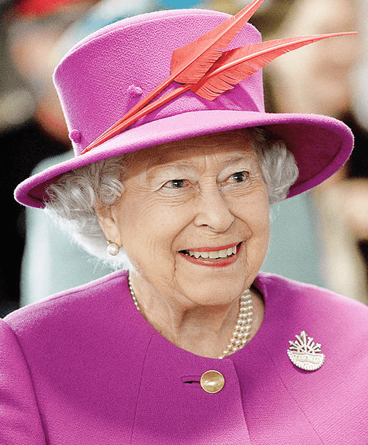 Queen Elizabeth II (Source: Wikimedia Commons)