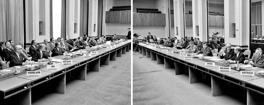 1974 First RevCon Meeting (Source: UN Audiovisual Library of International Law)