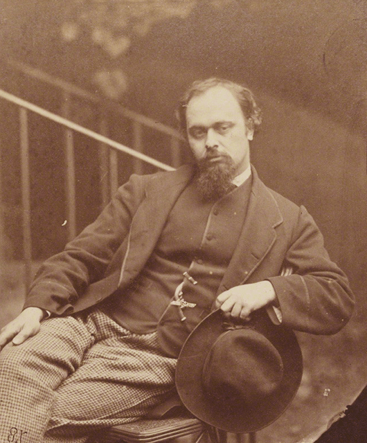 Dante Gabriel Rossetti (Source: Wikimedia Commons)