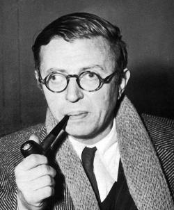 Jean-Paul Sartre (Source: Quotesgram.com)