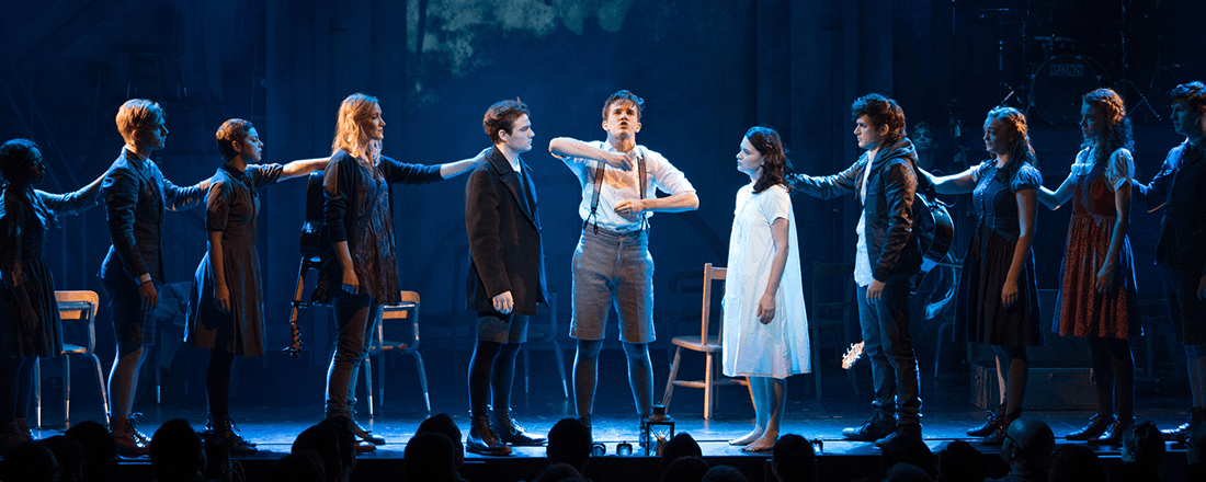 "Deaf West's 2015 Broadway production of ""Spring Awakening"" (Source: Sara Krulwich/NYTimes)"