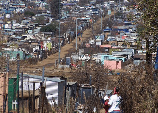 Soweto township in Johannesburg (Source: Wikimedia Commons)