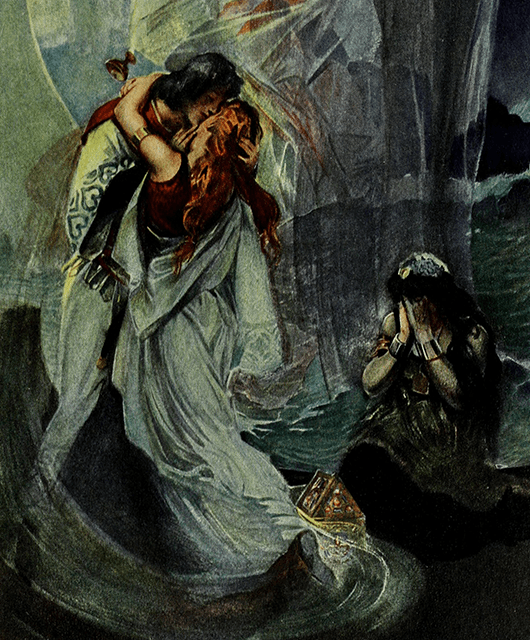 Tristan and Isolde (Source: Internet Archive Book Images/Flickr)