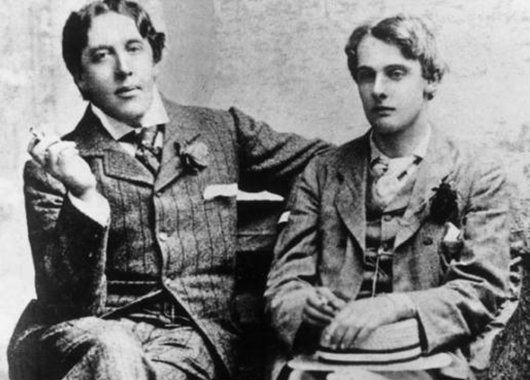 Oscar Wilde and Lord Alfred Douglas (Source: Wikimedia Commons)