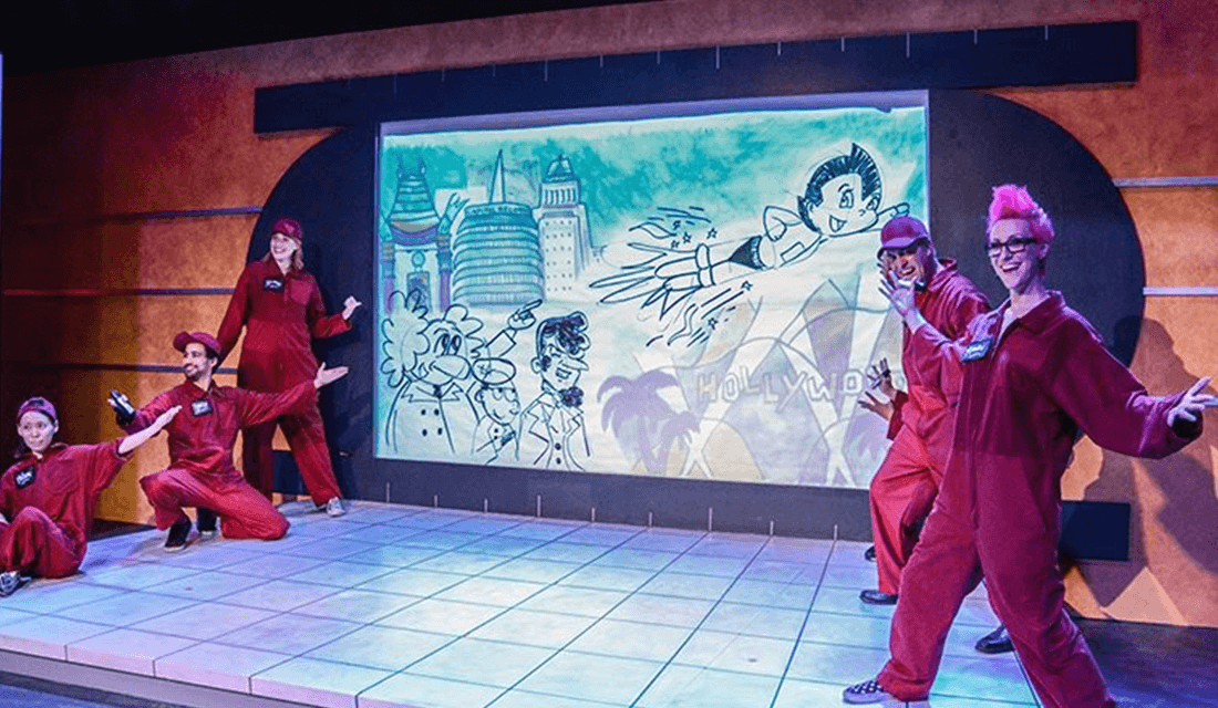 "Sacred Fool Theater's production of ""Astro Boy and the God of Comics"" (Source: Jessica Sherman/American Theatre)"