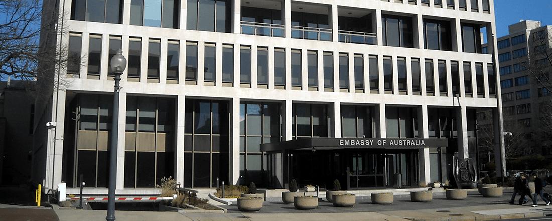 Embassy of Australia in Washington, D.C. (Source: AgnosticPreacherKid/Wikimedia Commons)