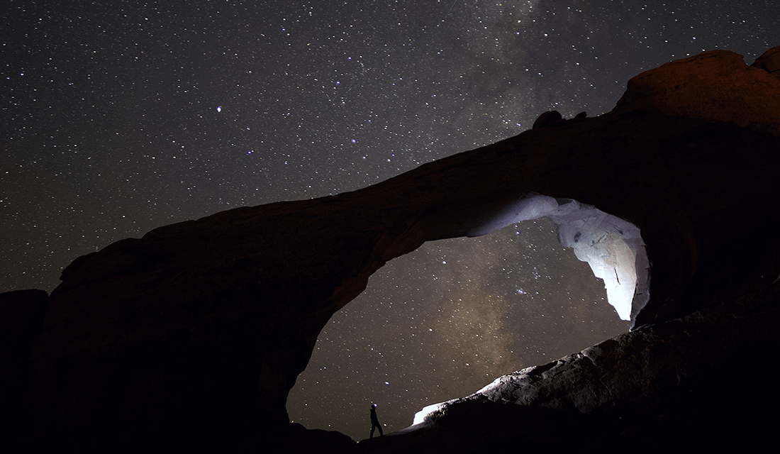 Hole in the Night Sky