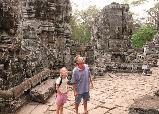 Gazing in Awe at Cambodia