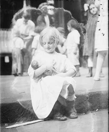 Child with Baby Doll (Source: Library of Congress/Flickr)