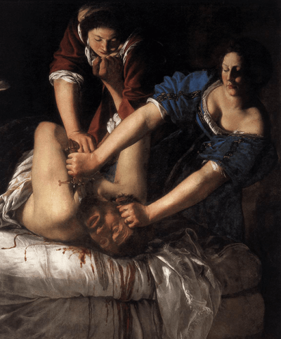 """Judith Beheading Holofernes"" by Artemisia Gentileschi (Source: Wikimedia Commons)"