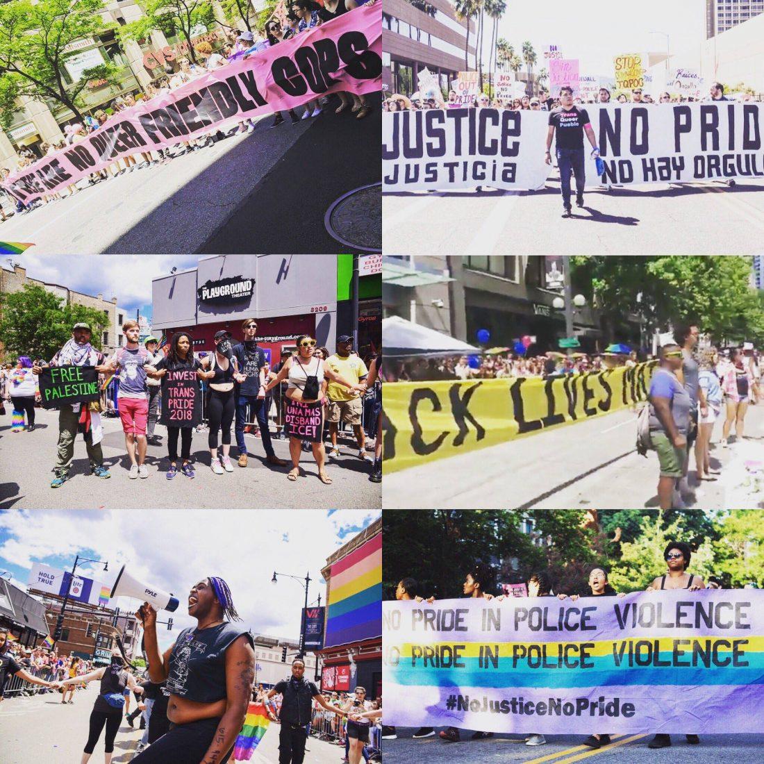 No Justice No Pride Photos (Source: No Justice No Pride/Facebook)