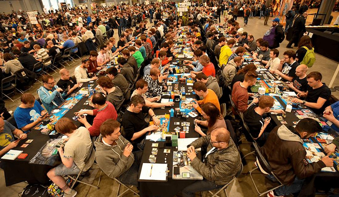 Magic: The Gathering Tournament (Source: Spikey Bits)