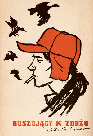 "M. S. Corley, ""Catcher in the Rye"" (entry for the 50 Watts' Polish Book Cover Contest) (Source: Will/Flickr)"