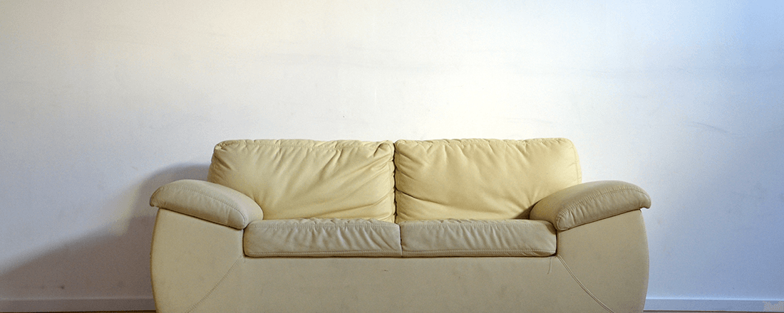 Couch Bathed in Light
