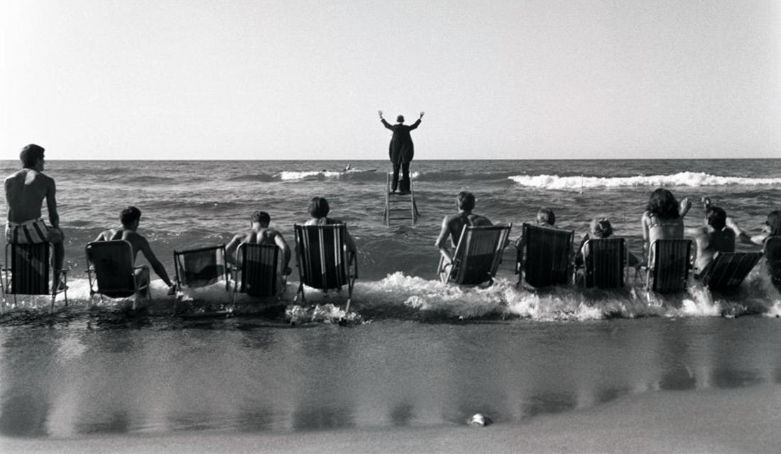 """The Sea Concert (The Panoramic Sea Happening),"" 1967 by Eustachy Kossakowski (Source: Anka Ptaszkowska/Culture.PL)"