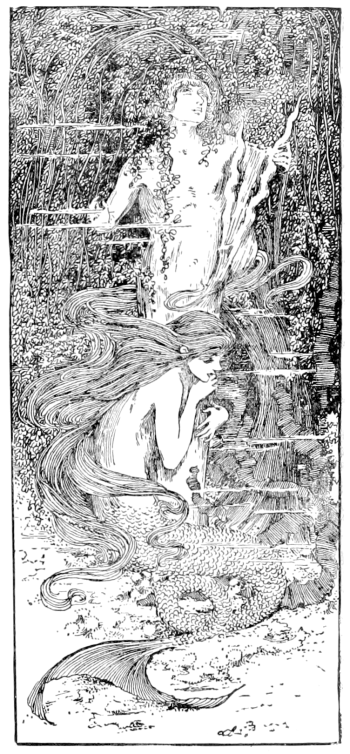 """The Little Mermaid illustration from """"The fairy tales of Hans Christian Andersen"""" (Source: Wikimedia Commons)"""