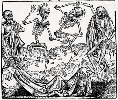 """Dance of Death"" by Michael Wolgemut (Source: Wikipedia)"
